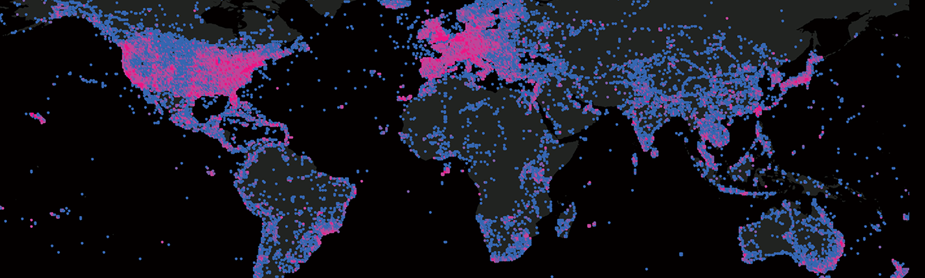 Mapping Flickr