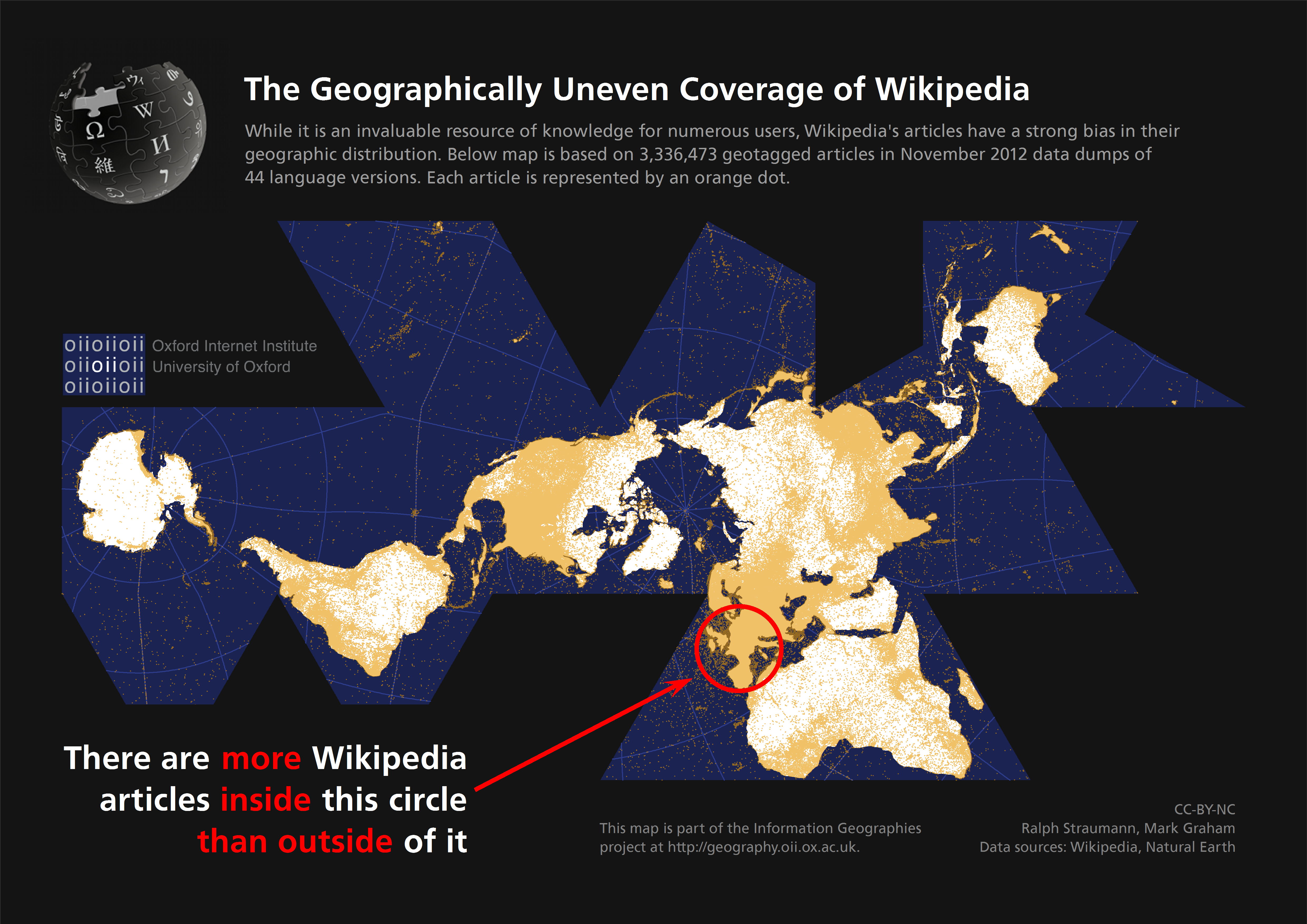 Geographic Coverage of Wikipedia